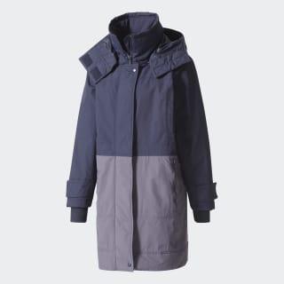 Утепленная куртка Essentials Long legend blue s10 / night steel-smc BQ8333