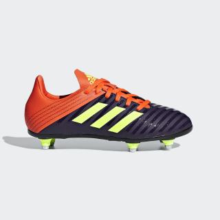 Zapatos de Rugby Malice Terreno Suave Legend Purple / Hi-Res Yellow / True Orange BD7835