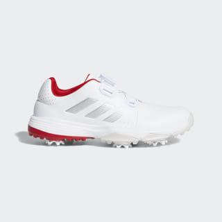 Adipower Boa Shoes Cloud White / Silver Metallic / Scarlet F33611