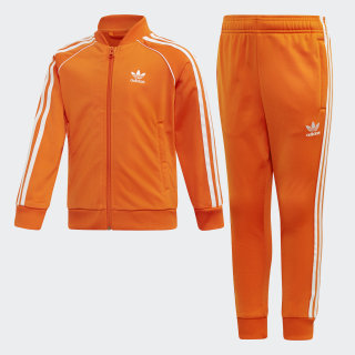 Track Suit SST Orange / White EI9867