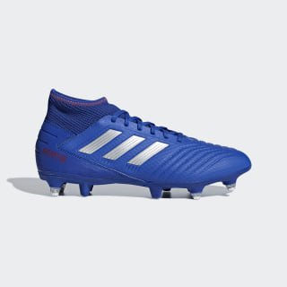 Predator 19.3 Soft Ground Boots Bold Blue / Silver Metallic / Active Red D97957