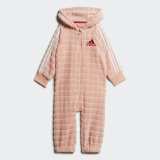 Winter Onesie Glow Pink / White / Active Pink ED1152