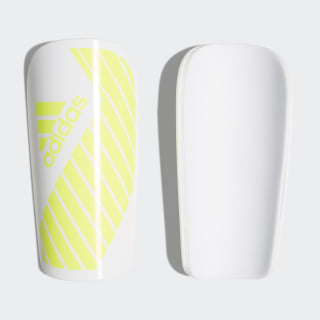 X Lesto Shin Guards White / Solar Yellow DN8613