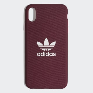 Canvas Molded Case iPhone Xs Max 6.5-Inch Maroon / White CL2361