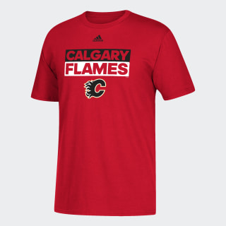 T-shirt Flames Box Logo Multi / Red DA6943