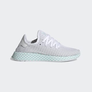 Zapatilla Deerupt Runner Ftwr White / Grey One / Clear Mint CG6089