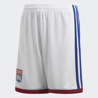 Pantalón corto primera equipación Olympique de Lyon White / Collegiate Red CF9148