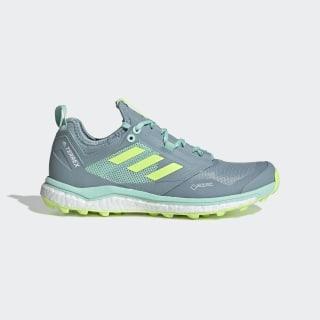 Terrex Agravic XT GORE-TEX Trail Running Shoes Ash Grey / Hi-Res Yellow / Clear Mint BC0452