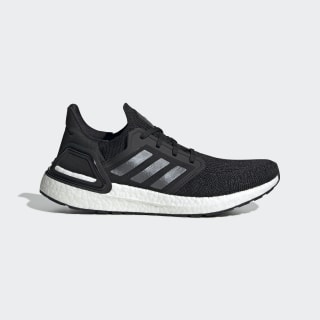 Кроссовки для бега Ultraboost 20 Core Black / Night Metallic / Cloud White EF1043