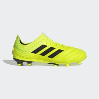 Scarpe da calcio Copa 19.1 Firm Ground Solar Yellow / Core Black / Solar Yellow F35454