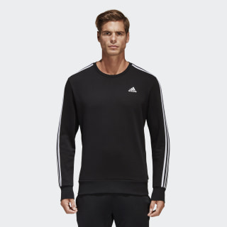 Essentials 3-Stripes Sweatshirt Black / White S98803