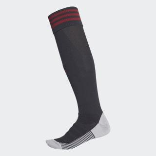 AdiSocks Kniesokken Black / Power Red CF9162