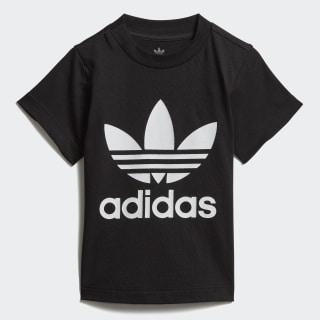 Camiseta Trefoil Black / White DV2829