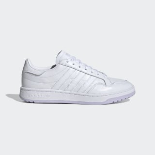 Scarpe Team Court Cloud White / Cloud White / Purple Tint EG9825