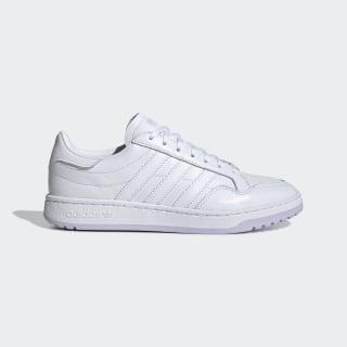 Team Court Shoes Cloud White / Cloud White / Purple Tint EG9825