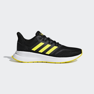 Obuv Runfalcon Core Black / Shock Yellow / Shock Yellow F36544
