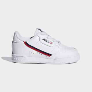 Sapatos Continental 80 Cloud White / Scarlet / Collegiate Navy G28218