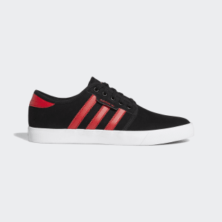 Zapatillas Seeley Core Black / Glory Red / Cloud White EG2630