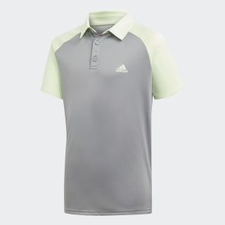 Club Polo Shirt Glow Green / Grey Three EC3588