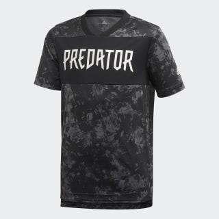 T-shirt Predator Allover Print Black FL2753