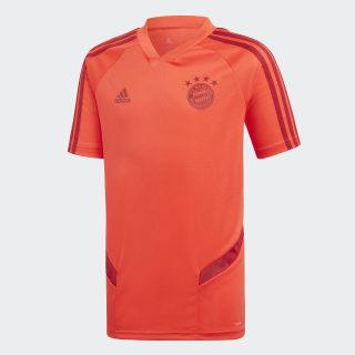 Camisola de Treino FC Bayern München Bright Red / Active Maroon DX9156