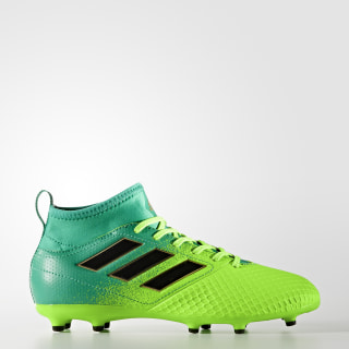 ACE 17.3 Primemesh Firm Ground Boots Solar Green / Core Black / Core Green BB1027