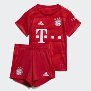 FC Bayern Baby hjemmebanesæt Fcb True Red DX9258