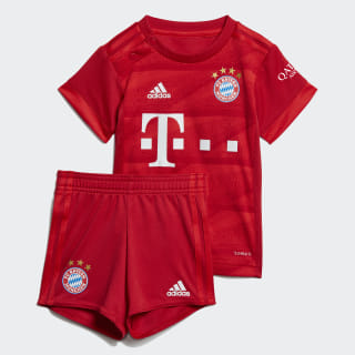 FC Bayern Home Baby Kit Fcb True Red DX9258