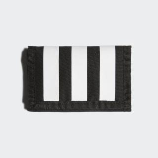 Portefeuille 3-Stripes Black / Black / White FL3654
