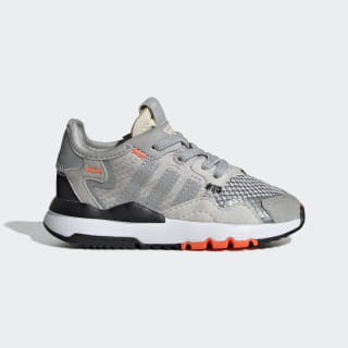 Nite Jogger Shoes Grey Two / Grey Three / Solar Orange DB2812