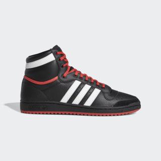 Sapatos Top Ten Hi Core Black / Cloud White / Glory Red EF6365
