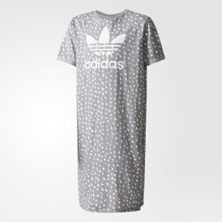 Vestido Camiseta GREY THREE F17/WHITE BQ4049