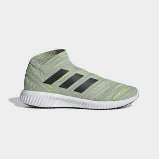 Zapatos de Fútbol Nemeziz Tango 18.1 Grey Two / Core Black / Solar Yellow BB9457