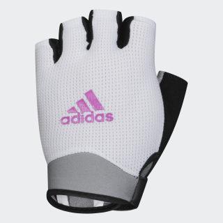 Перчатки для фитнеса white / real magenta CL5112