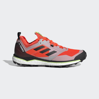 Terrex Agravic XT Trail Running Shoes Solar Red / Core Black / Grey Two EF2109