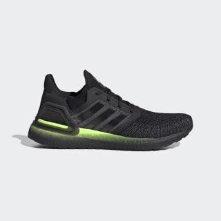 Ultraboost 20 Ayakkabı Core Black / Core Black / Signal Green FW5523