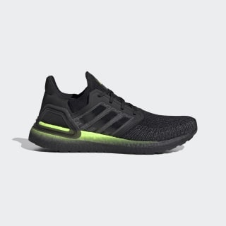 Ultraboost 20 Shoes Core Black / Core Black / Signal Green FW5523