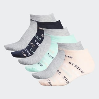 Three Stripe Life Superlite Socks 6 Pairs Multicolor CK8339