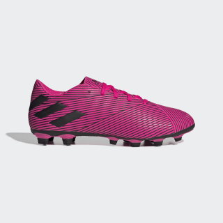 Botines Nemeziz 19.4 Flexible Ground Shock Pink / Core Black / Shock Pink F34392