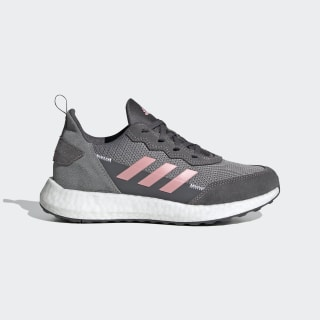 Кроссовки для бега RapidaLux S and L Grey Three / Glow Pink / Cloud White FV2762