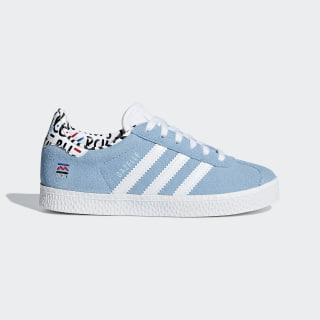 Tenis Gazelle C CLEAR BLUE/FTWR WHITE/CLEAR BLUE B37215