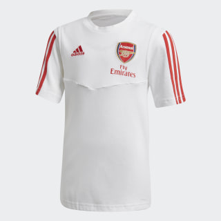 Arsenal Tee White / Scarlet EJ6282