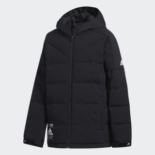 Пуховик black / black / white EH4167