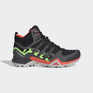 Terrex Swift R2 Mid GORE-TEX Hiking Shoes Core Black / Grey Six / Signal Green FU7603