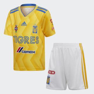 Mini Uniforme de Local Tigres UANL BOLD GOLD/COLLEGIATE GOLD/BLUE/WHITE CD6008