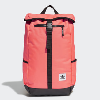 Premium Essentials Top Loader Rucksack Signal Coral FQ5418