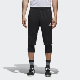 Tiro 17 Three-Quarter Pants Black / White AY2879