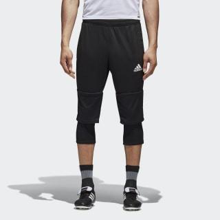 Укороченные брюки Tiro 17 black / white AY2879