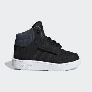 Hoops 2.0 Mid Schuh Core Black / Core Black / Grey Six F35842
