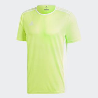 Camisa Entrada18 Solar Yellow / White CE9759